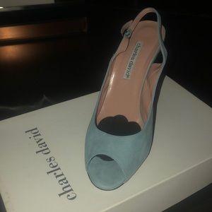 Charles David Peep Toe Heels